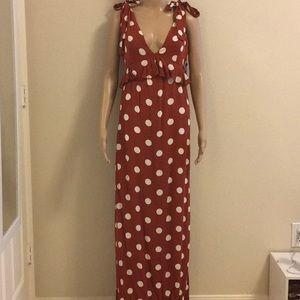 NWT maxi dress Size M